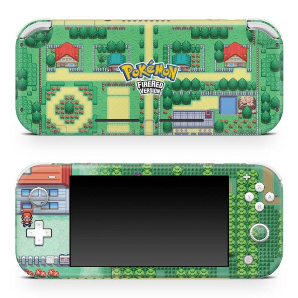 Nintendo Switch Lite Skin - Pokemon Firered