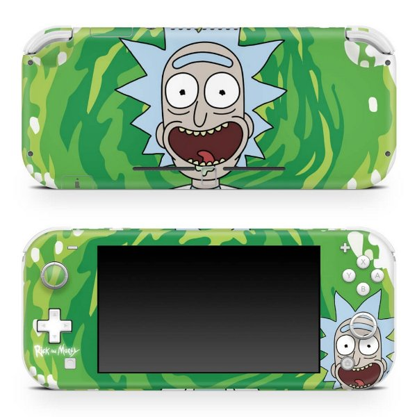 Nintendo Switch Lite Skin - Rick And Morty