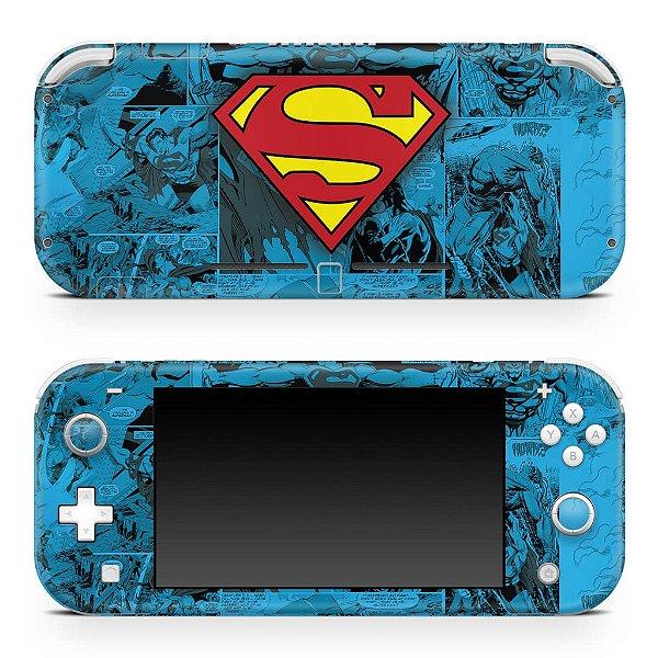 Nintendo Switch Lite Skin - Superman Comics