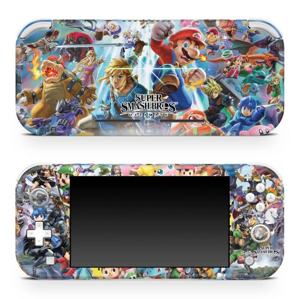 Nintendo Switch Lite Skin - Super Smash Bros. Ultimate