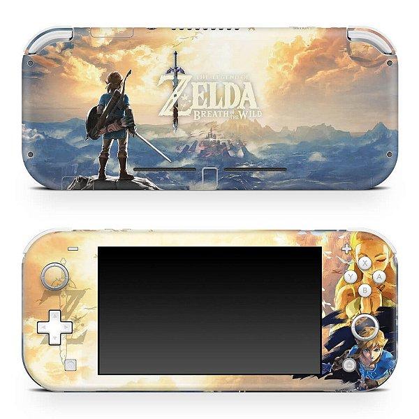 Nintendo Switch Lite Skin - Zelda Breath Of The Wild
