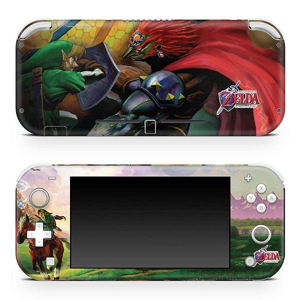 Nintendo Switch Lite Skin - Zelda Ocarina Of Time