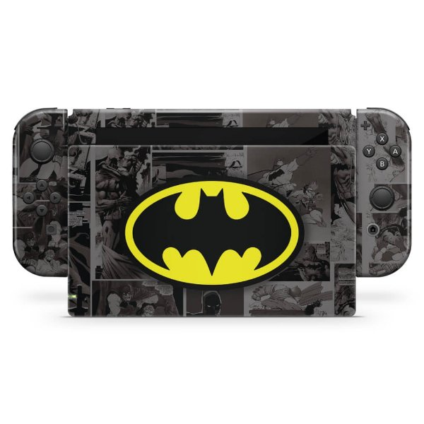 Nintendo Switch Skin - Batman Comics