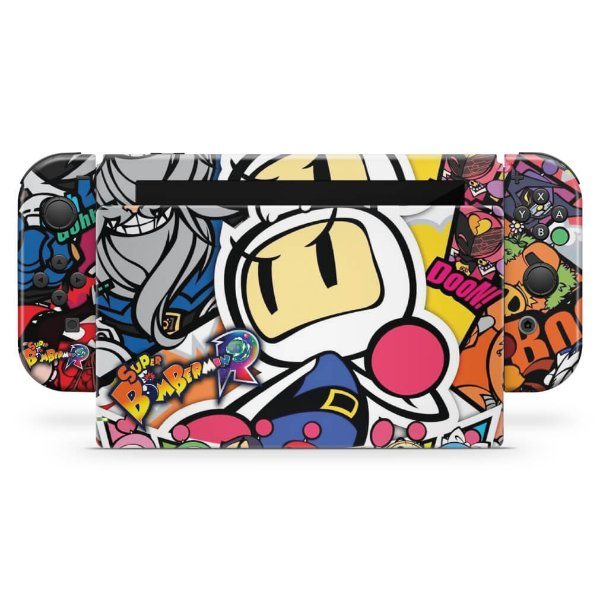 Nintendo Switch Skin - Bomberman
