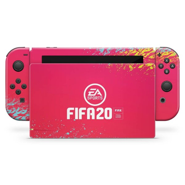Nintendo Switch Skin - Fifa 20
