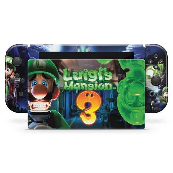 Nintendo Switch Skin - Luigi's Mansion 3