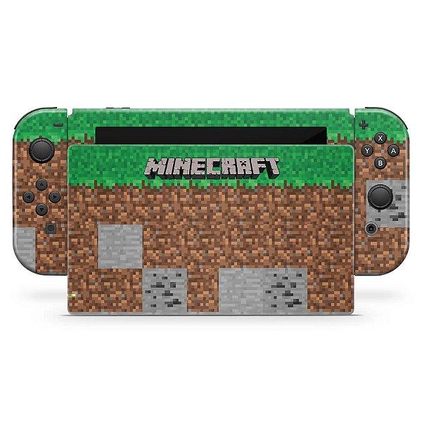 Nintendo Switch Skin - Minecraft