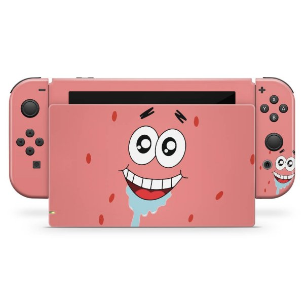 Nintendo Switch Skin - Patrick Bob Esponja