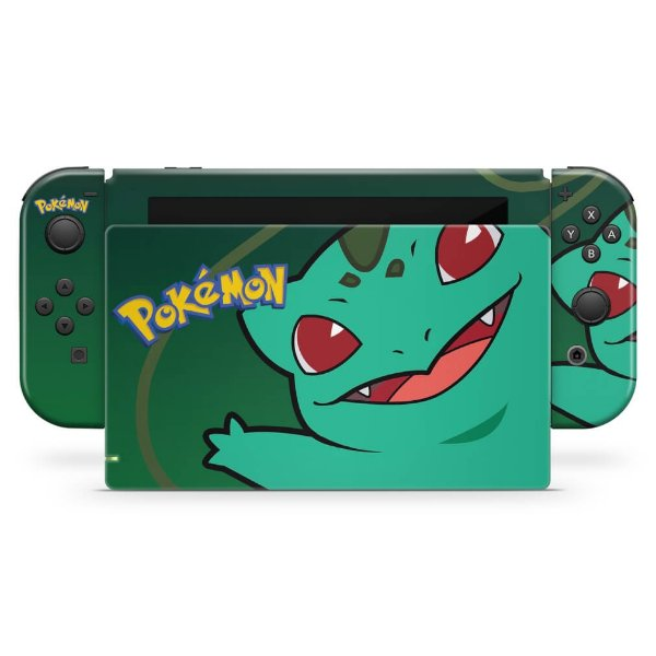 Nintendo Switch Skin - Pokémon Bulbasaur
