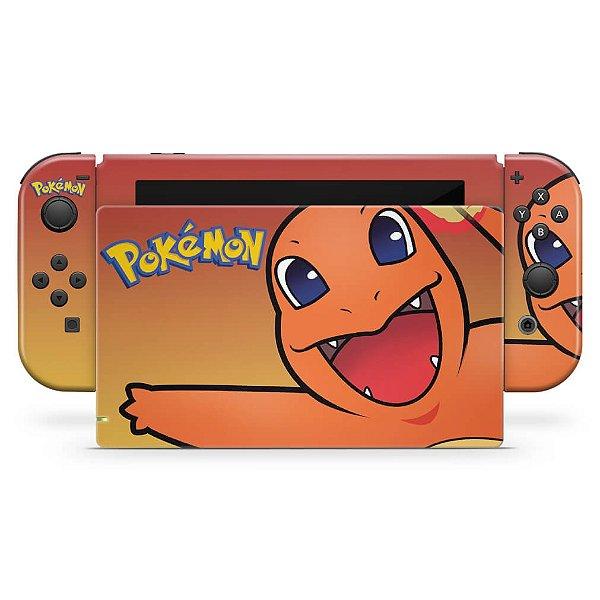 Nintendo Switch Skin - Pokémon Charmander