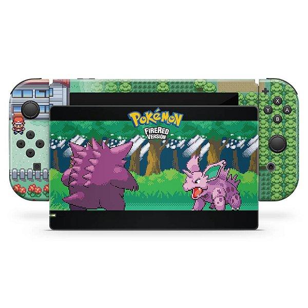 Nintendo Switch Skin - Pokemon Firered