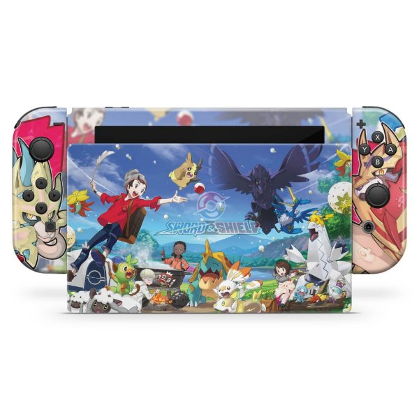 Nintendo Switch Skin - Pokémon Sword And Shield