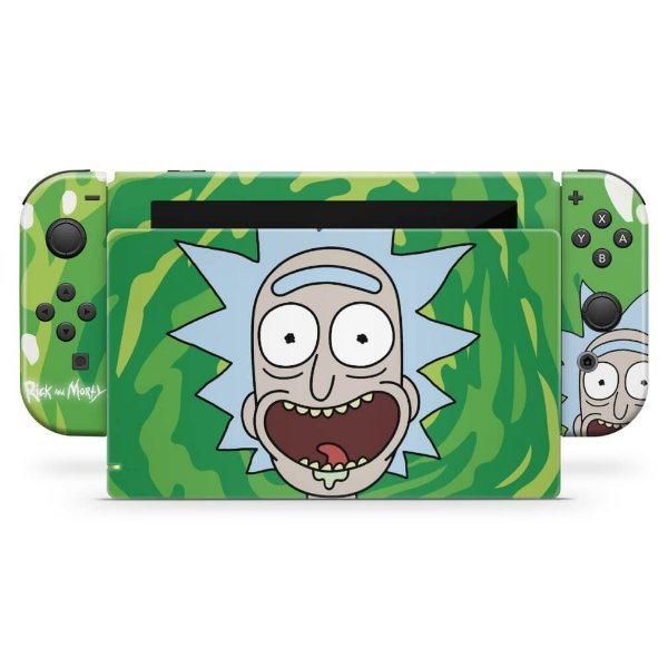 Nintendo Switch Skin - Rick And Morty
