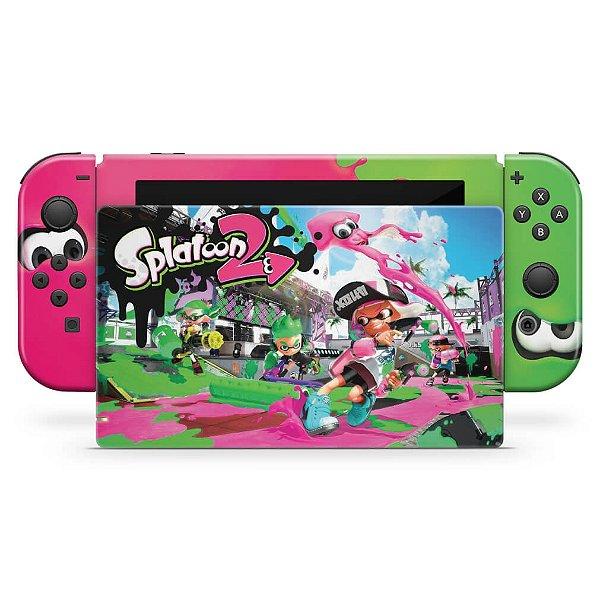 Nintendo Switch Skin - Splatoon 2