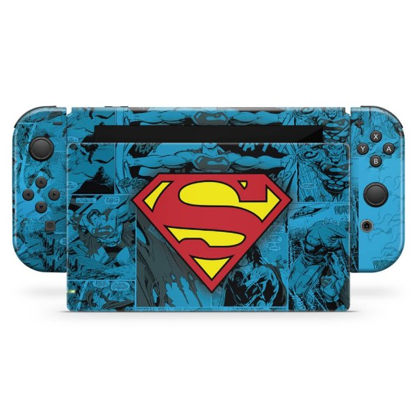 Nintendo Switch Skin - Superman Comics