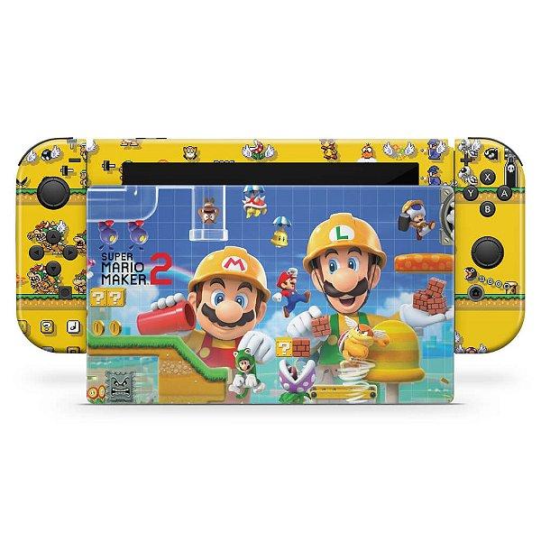 Nintendo Switch Skin - Super Mario Maker 2