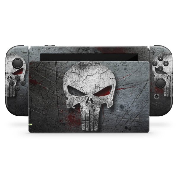 Nintendo Switch Skin - The Punisher Justiceiro