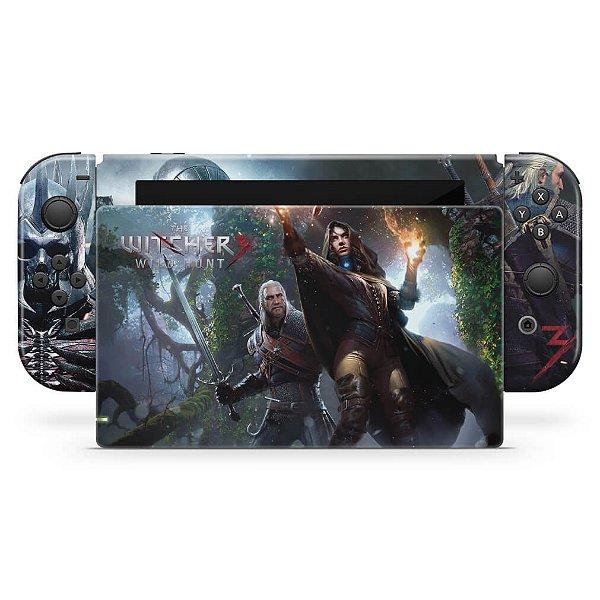 Nintendo Switch Skin - The Witcher 3: Wild Hunt