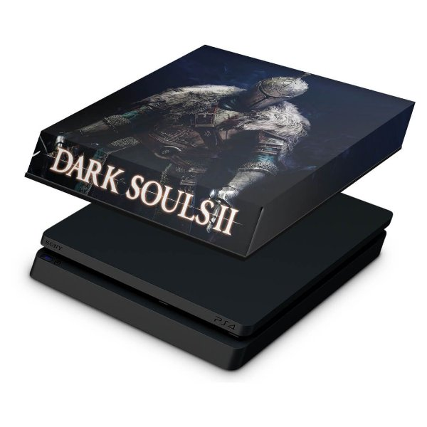 PS4 Slim Capa Anti Poeira - Dark Souls 2