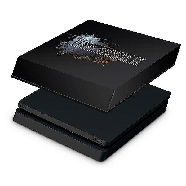 PS4 Slim Capa Anti Poeira - Final Fantasy XV #A