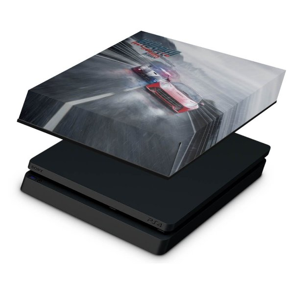 PS4 Slim Capa Anti Poeira - Need for Speed Rivals