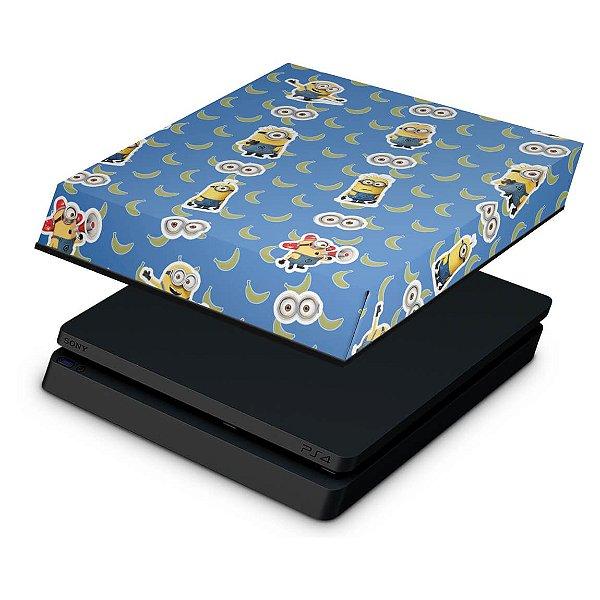 PS4 Slim Capa Anti Poeira - Minions