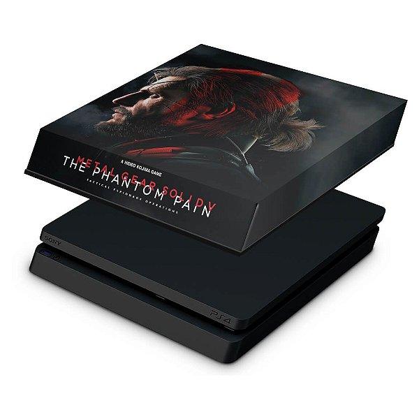 PS4 Slim Capa Anti Poeira - Metal Gear Solid 5: The Phantom Pain