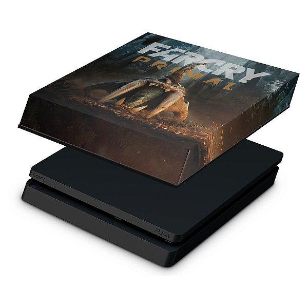 PS4 Slim Capa Anti Poeira - Far Cry Primal