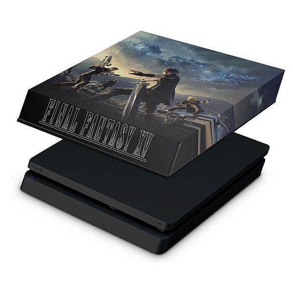 PS4 Slim Capa Anti Poeira - Final Fantasy XV #B