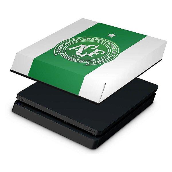 PS4 Slim Capa Anti Poeira - Chapecoense Chape