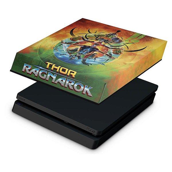 PS4 Slim Capa Anti Poeira - Thor Ragnarok