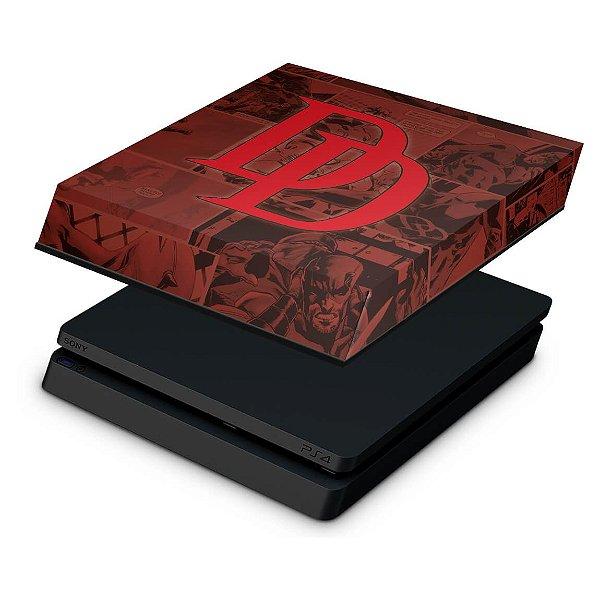 PS4 Slim Capa Anti Poeira - Daredevil Demolidor Comics