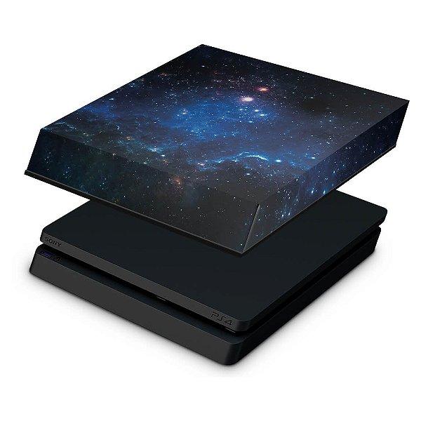 PS4 Slim Capa Anti Poeira - Universo Cosmos