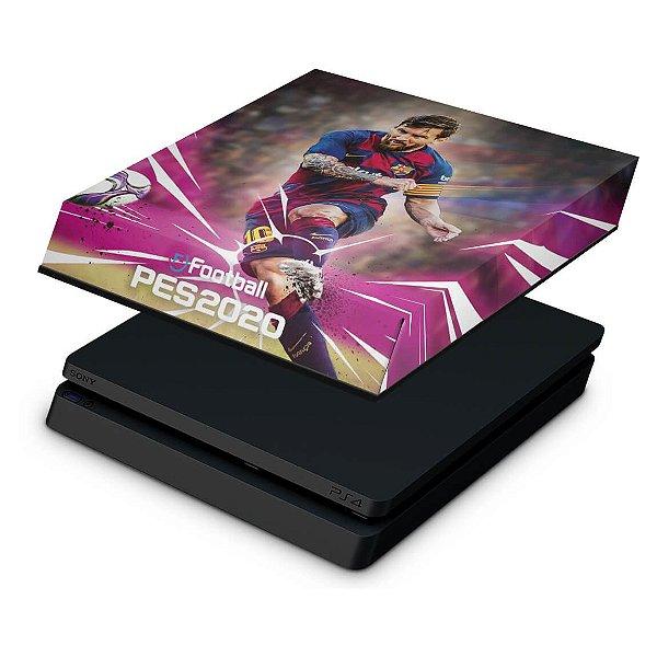 PS4 Slim Capa Anti Poeira - PES 2020