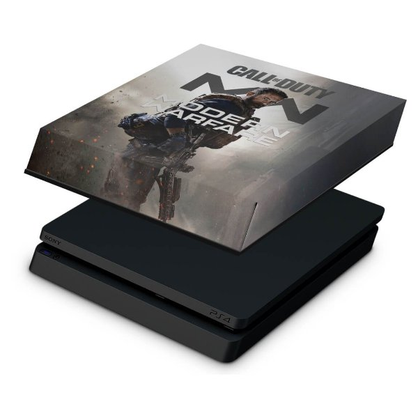 PS4 Slim Capa Anti Poeira - Call Of Duty Modern Warfare