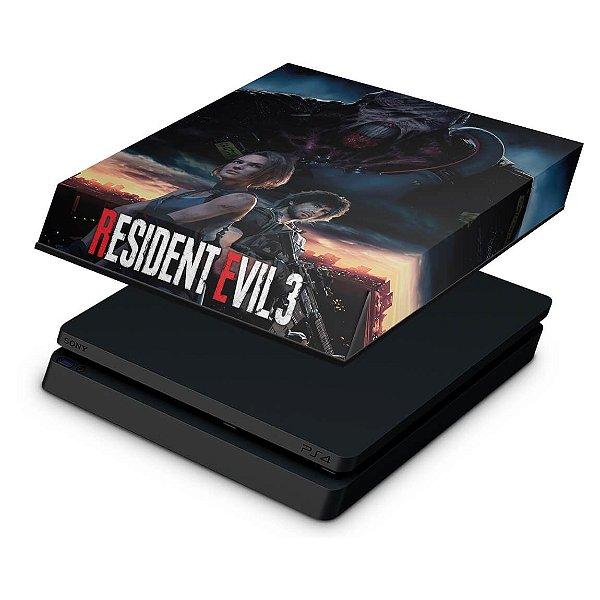PS4 Slim Capa Anti Poeira - Resident Evil 3 Remake