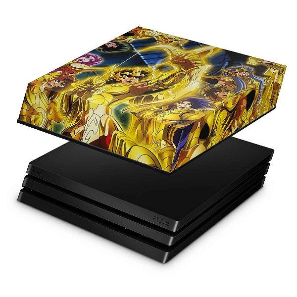 PS4 Pro Capa Anti Poeira - Cavaleiros Do Zodiaco