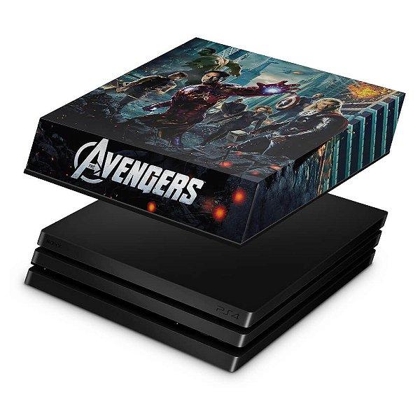 PS4 Pro Capa Anti Poeira - The Avengers - Os Vingadores