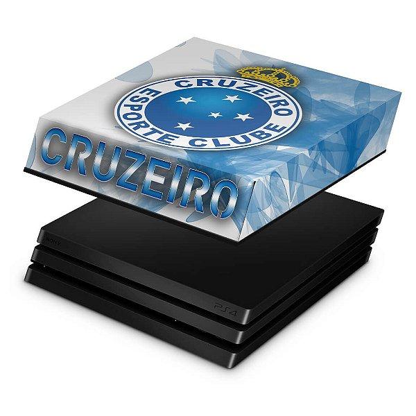 PS4 Pro Capa Anti Poeira - Cruzeiro