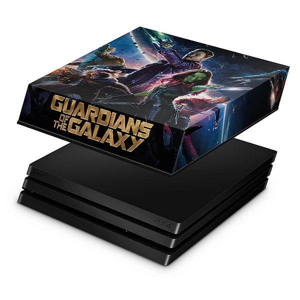 PS4 Pro Capa Anti Poeira - Guardioes da Galaxia