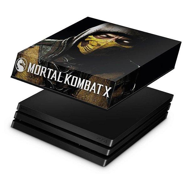 PS4 Pro Capa Anti Poeira - Mortal Kombat X