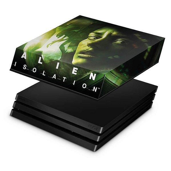 PS4 Pro Capa Anti Poeira - Alien Isolation
