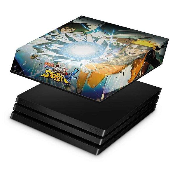 PS4 Pro Capa Anti Poeira - Naruto Shippuden: Ultimate Ninja Storm 4