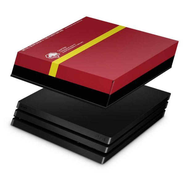 PS4 Pro Capa Anti Poeira - The Metal Gear Solid 5 Special Edition