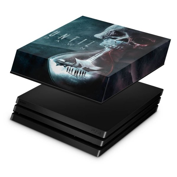 PS4 Pro Capa Anti Poeira - Until Dawn