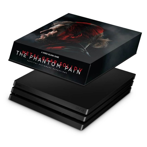 PS4 Pro Capa Anti Poeira - Metal Gear Solid 5: The Phantom Pain