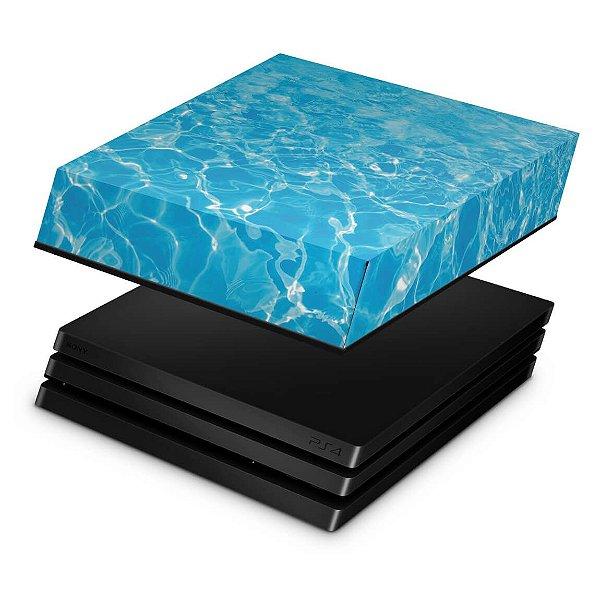 PS4 Pro Capa Anti Poeira - Aquático Água
