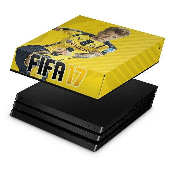 PS4 Pro Capa Anti Poeira - Fifa 17