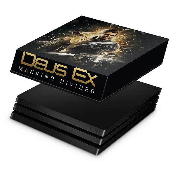 PS4 Pro Capa Anti Poeira - Deus Ex: Mankind Divided