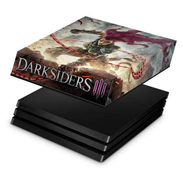 PS4 Pro Capa Anti Poeira - Darksiders 3